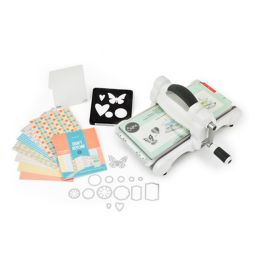 Sizzix Big Shot Starter Kit 2015 weiß / grau A5